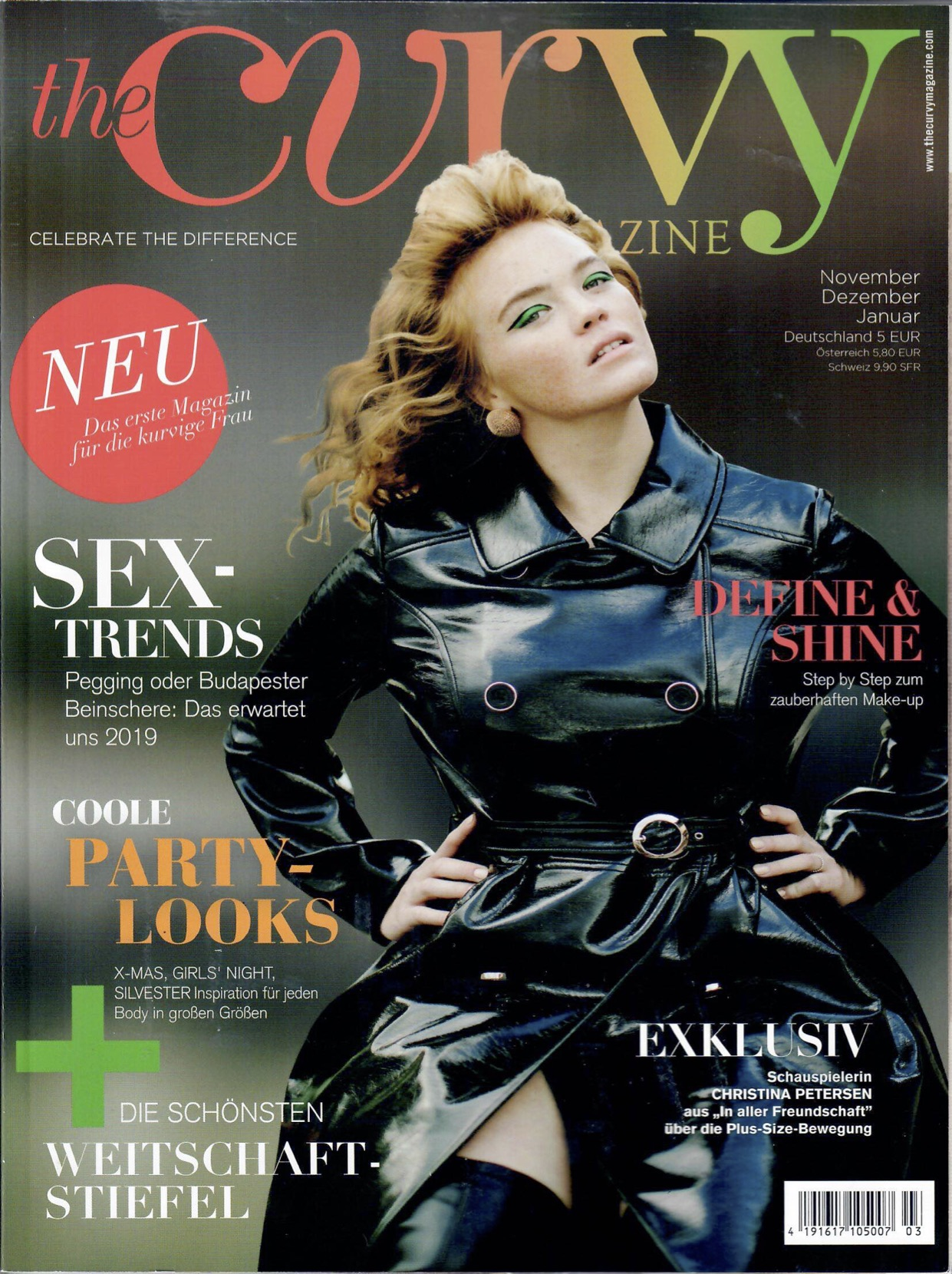 The Curvy Magazin Winter 2018